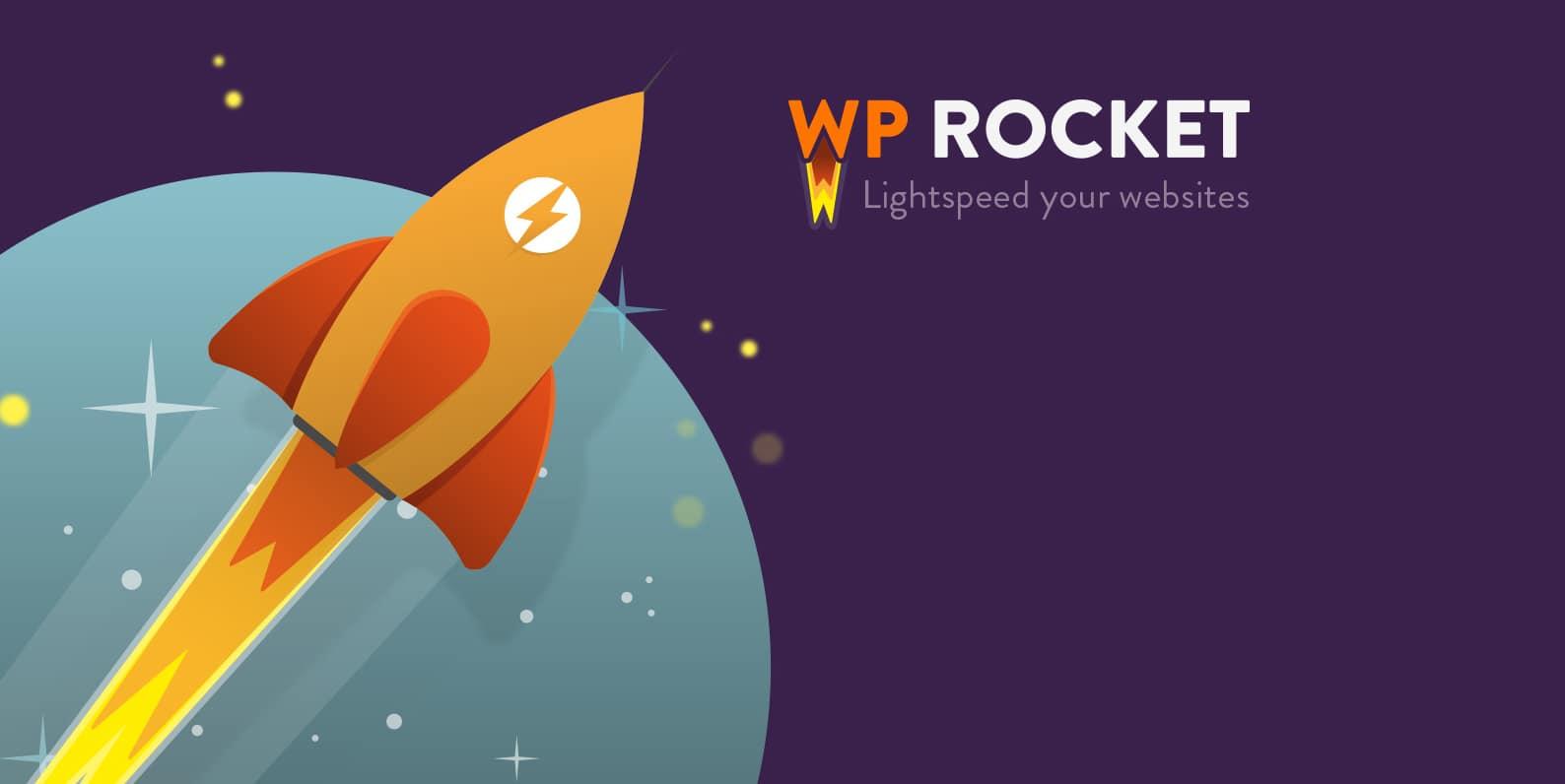 wp-rocket speed wordpress site